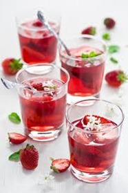resep menu ramadhan sirup strawberry