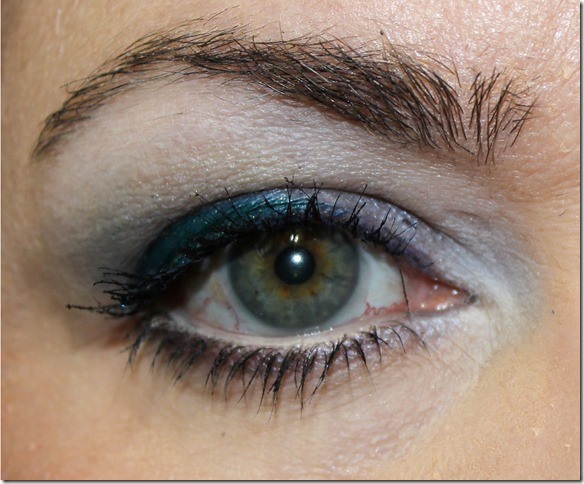 Sephora elemental quad 4 look 1