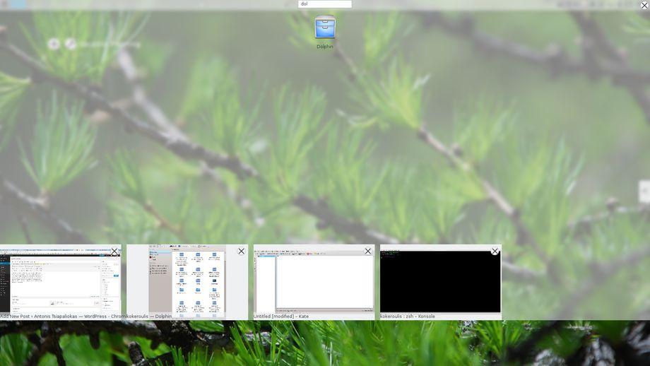 KDE Plasma Active Qt5/KF5 Launcher