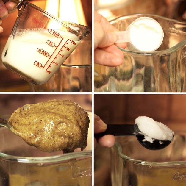 milkproteinpowdercoconutoilalmondbutterframe