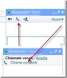 chiamate vocali via computer