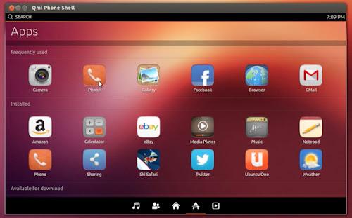 Unity Next su Ubuntu desktop