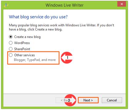 Menulis dan Memposting Artikel Blog dengan Windows Live Writter 02
