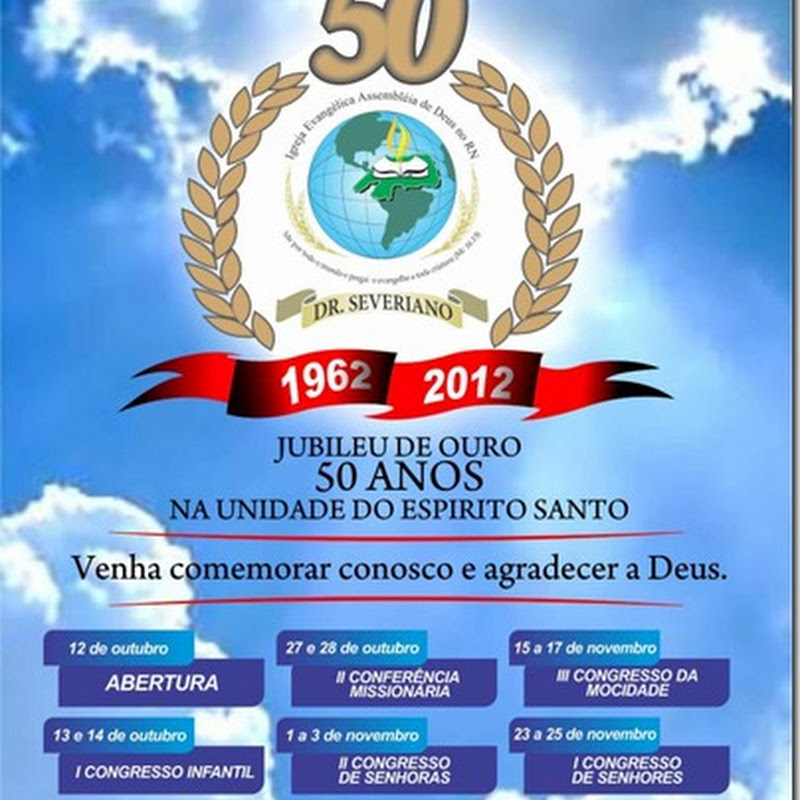 Dr. Severiano: Jubileu de Ouro – 50 anos Na Unidade do Espírito Santo