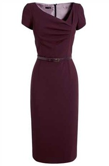Crepe dress NX1