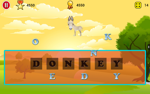 Jumbled Animals - screenshot