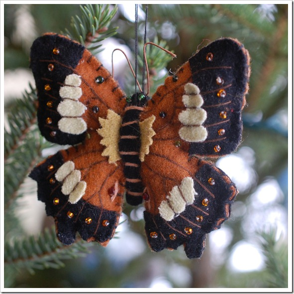 SQ felt butterfly