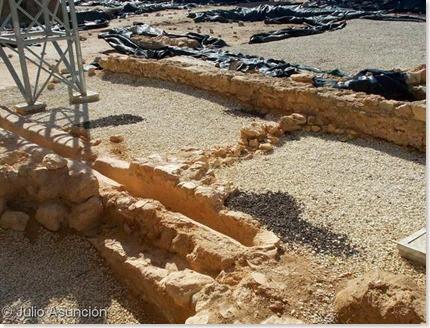 Villa de l´Albir - zona de enterramientos infantiles