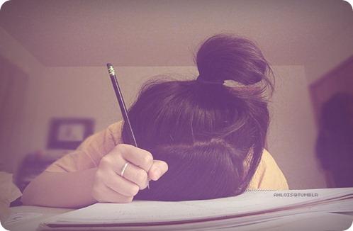 tentando estudar