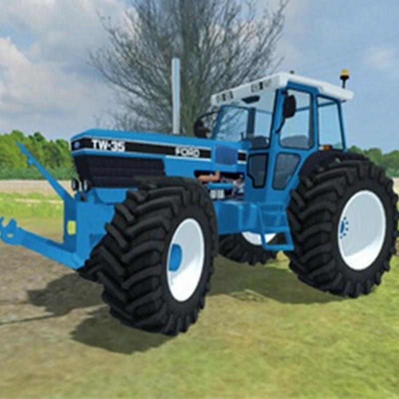 Farming simulator 2013 - Ford TW35