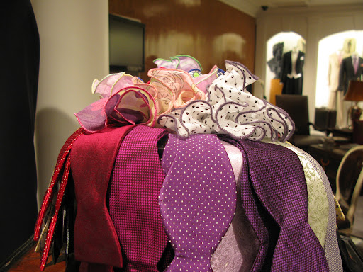Colorful and smart bow ties.