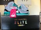 nike lebron 9 ps elite grey candy pink 5 04 LeBron 9 P.S. Elite Miami Vice Official Images & Release Date
