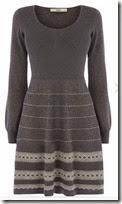 Oasis Textured Hem Knit Dress