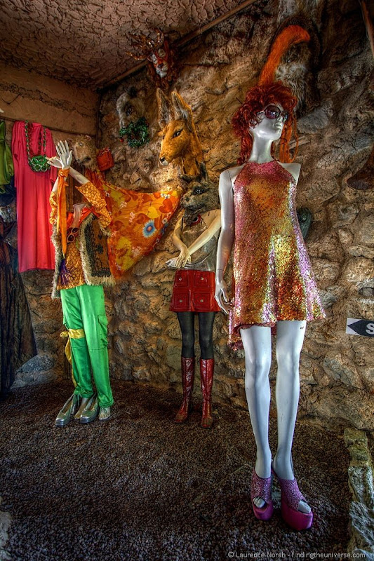 Mannequins Castle Fitou 1