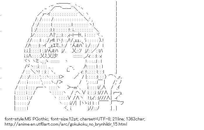 Gokukoku no Brynhildr,Takatori Kotori