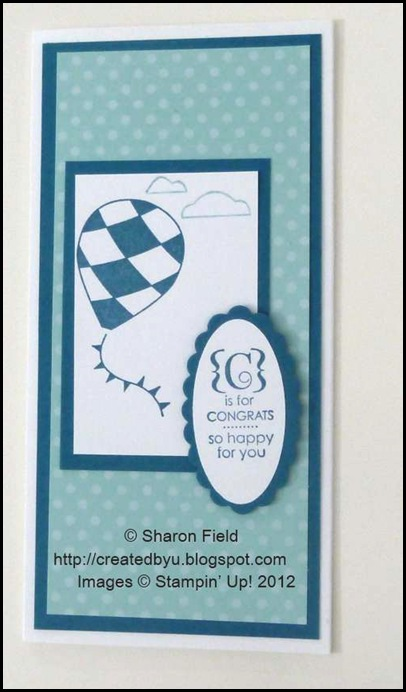 CAS and 5 minute card for seniors by sharon field
