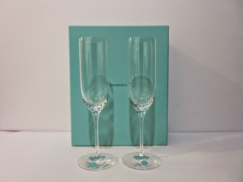 Tiffany & Co. Flute Pair