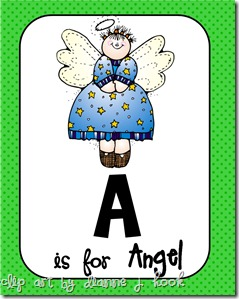 A is for Angel Pic