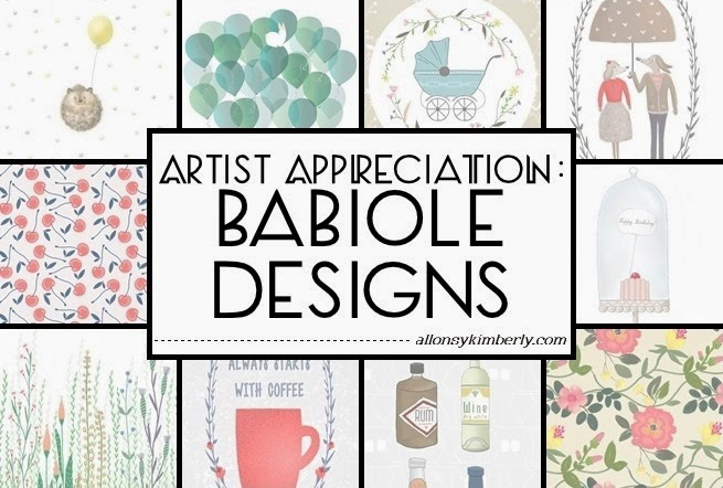 Artist Appreciation: Babiole Designs | allonsykimberly.com