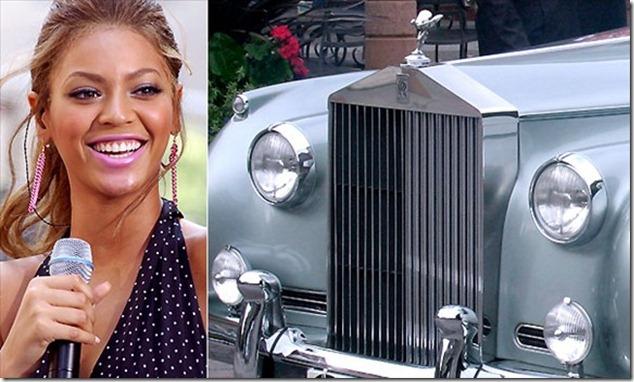 Beyoncé and the Rolls-Royce Silver Cloud