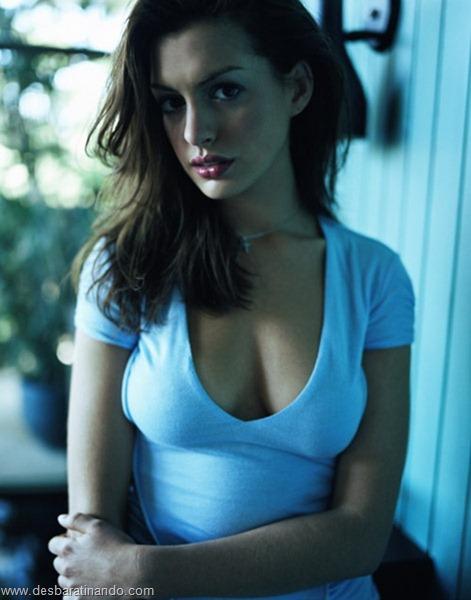 anne hathaway linda sensual sexy desbaratinando  (66)