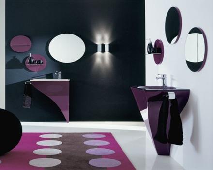 12 espacios interiores decoradas en tono violeta tan delicado como ...