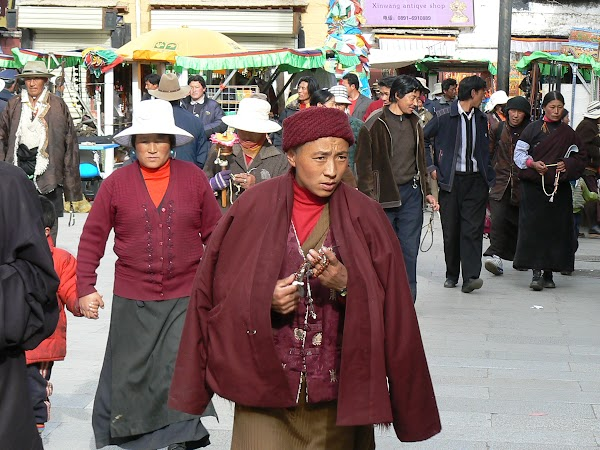 Obiective turistice Tibet: Barkhor, Lhasa