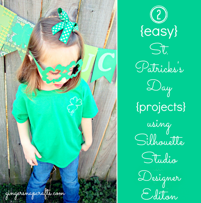St. Patrick's Day projects with Silhouette Studio Design Edition