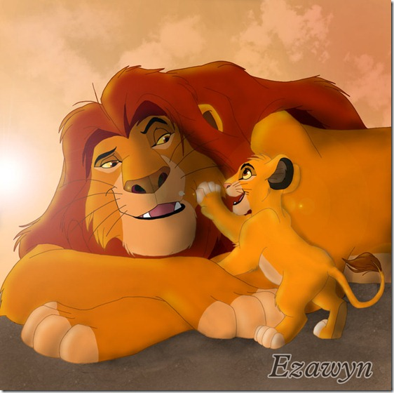 El Rey León,The Lion King,Simba (110)