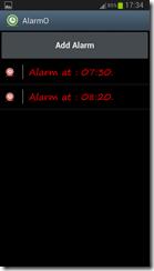 تطبيق منبه للأندرويد AlarmO - Alarm Clock - سكرين شوت 2