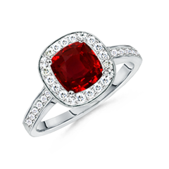 The Queen Ruby Ring