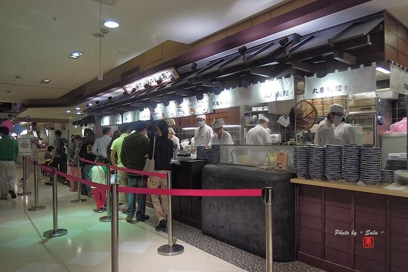 台北 食 日式 烏龍麵 丸龜製麵 新光三越