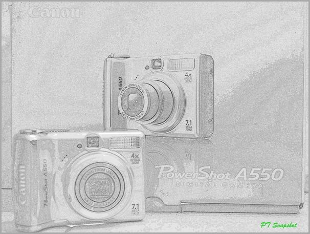 Canon Power Shot A550