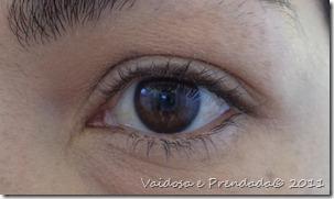 olho esquerdo pelado
