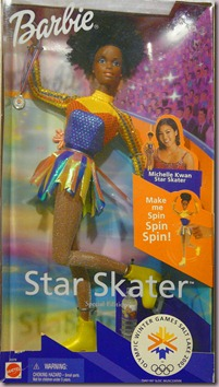 Barbie Nikki Olympic Winter Games Salt Lake 2002 Star Skater