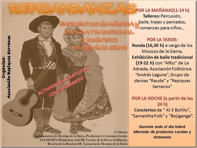 CARTEL repicandanzas 2012