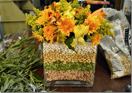 fall flower arrangement 4