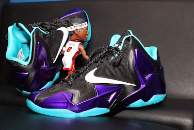 nike lebron 11 id production hornets 1 10 NIKEiD LeBron 11 Summit Lake Hornets Build by PPumper