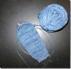 Haystacks Sock 1 - Heel Turn