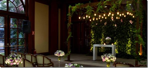muro inglês decoração de casamento, hall, mesa de doces, igreja