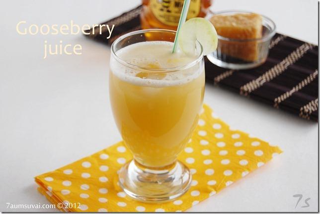Gooseberry juice pic2