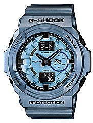 CASIO 2012 G-SHOCK GA-150A watches metallic orange, green, blue WATCHES FOR SPRING SUMMER SEASON Casio G-Factory stores