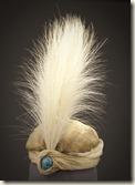Turban, Paul Poiret, porté par Denise Poiret, 1911, porté pour « La mille-et-deuxième nuit »
