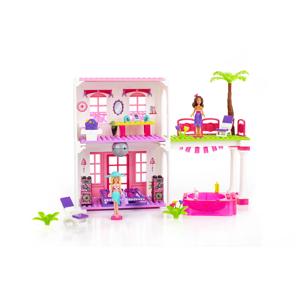 mega bloks barbie beach house instructions
