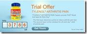 image Free Sample Tylenol Arthritus Pain