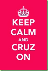 cruz on keep calm