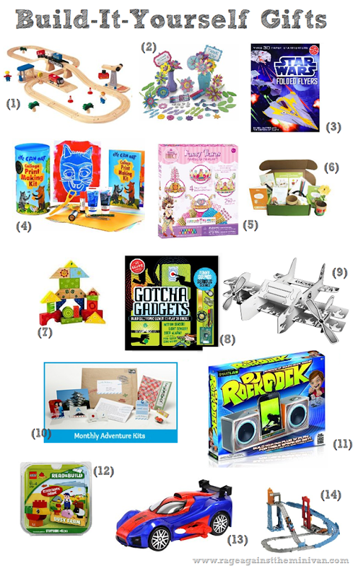 Best DIY/ Build-It-Yourself/ Crafty Toys for Kids This Christmas