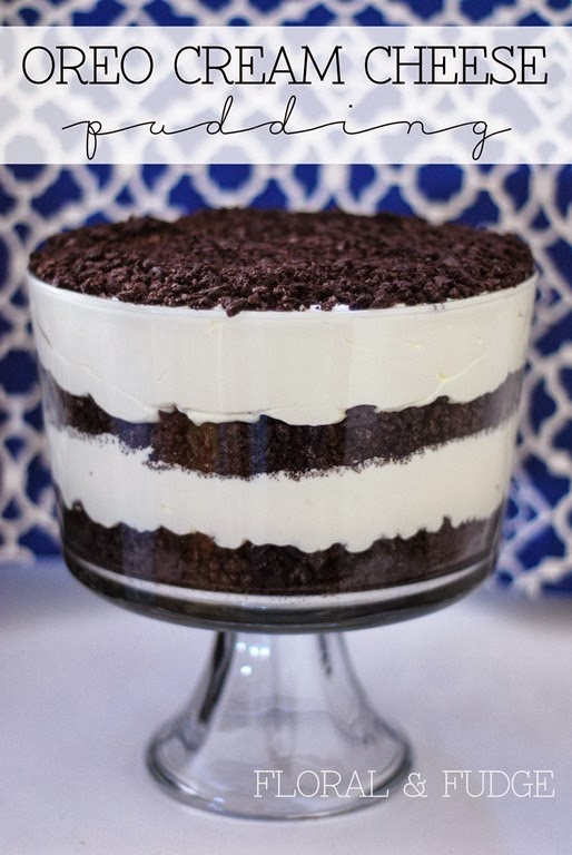 oreo cream cheese pudding