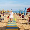 La nostra spiaggia privata ed attrezzata