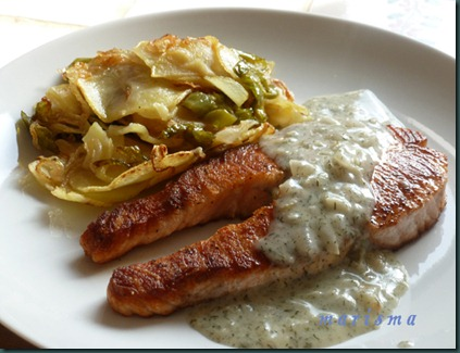 salmon al eneldo,racion copia